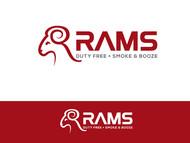 Rams Duty Free + Smoke & Booze Logo - Entry #115