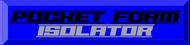 Pocket Form Isolator Logo - Entry #241