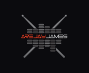 arejay james Logo - Entry #49