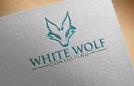 White Wolf Consulting (optional LLC) Logo - Entry #205