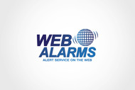 Logo for WebAlarms - Alert services on the web - Entry #196