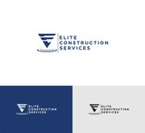 Elite Construction Services or ECS Logo - Entry #338