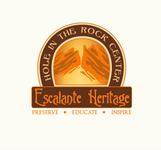 Escalante Heritage/ Hole in the Rock Center Logo - Entry #96