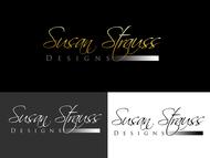Susan Strauss Design Logo - Entry #70
