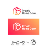 Prompt Home Care Logo - Entry #68