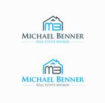 Michael Benner, Real Estate Broker Logo - Entry #120