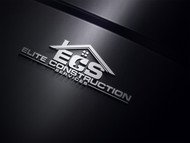 Elite Construction Services or ECS Logo - Entry #95