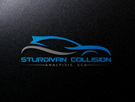 Sturdivan Collision Analyisis.  SCA Logo - Entry #186