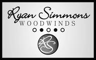 Woodwind repair business logo: R S Woodwinds, llc - Entry #124