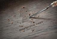 Inspector West Logo - Entry #150