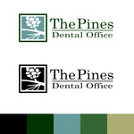 The Pines Dental Office Logo - Entry #3