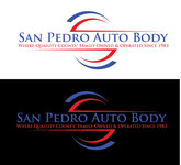 San Pedro Auto Body Logo - Entry #33