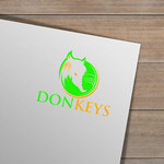 DONKEYS Logo - Entry #7