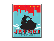 Chicago Jet Ski Adventures Logo - Entry #69