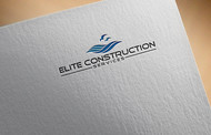 Elite Construction Services or ECS Logo - Entry #201