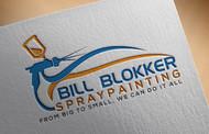 Bill Blokker Spraypainting Logo - Entry #28
