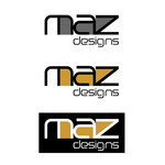 Maz Designs Logo - Entry #43