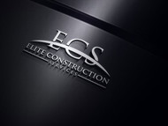 Elite Construction Services or ECS Logo - Entry #119