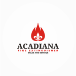 Acadiana Fire Extinguisher Sales and Service Logo - Entry #250