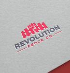Revolution Fence Co. Logo - Entry #166