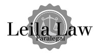 Leila Law Logo - Entry #102
