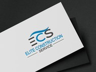 Elite Construction Services or ECS Logo - Entry #77