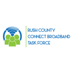 Rush County Connect Broadband Task Force Logo - Entry #76
