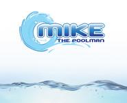 Mike the Poolman  Logo - Entry #89