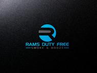 Rams Duty Free + Smoke & Booze Logo - Entry #151