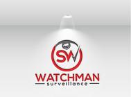 Watchman Surveillance Logo - Entry #231
