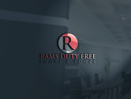 Rams Duty Free + Smoke & Booze Logo - Entry #125