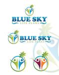 Blue Sky Life Plans Logo - Entry #176