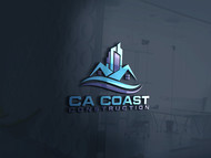 CA Coast Construction Logo - Entry #237
