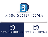 3D Sign Solutions Logo - Entry #194