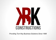 KBK constructions Logo - Entry #96