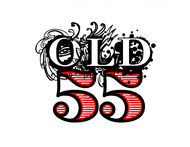 """""""OLD 55"""" - mid-century vintage furniture and wares store Logo - Entry #15"""