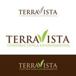 TerraVista Construction & Environmental Logo - Entry #274