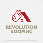 Revolution Roofing Logo - Entry #185