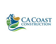 CA Coast Construction Logo - Entry #263