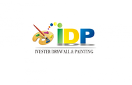 IVESTER DRYWALL & PAINTING, INC. Logo - Entry #2