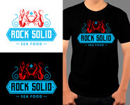 Rock Solid Seafood Logo - Entry #167
