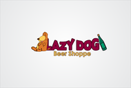 Lazy Dog Beer Shoppe Logo - Entry #5