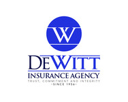 """DeWitt Insurance Agency"" or just ""DeWitt"" Logo - Entry #186"