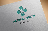 Natural Green Cannabis Logo - Entry #11