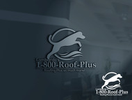 1-800-Roof-Plus Logo - Entry #148