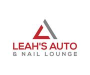 Leah's auto & nail lounge Logo - Entry #85