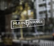 MAIN2NANCE BUILDING SERVICES Logo - Entry #24