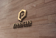 Pinnacles Real Estate Group  Logo - Entry #2