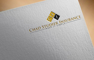 Chad Studier Insurance Logo - Entry #88