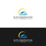Elite Construction Services or ECS Logo - Entry #309
